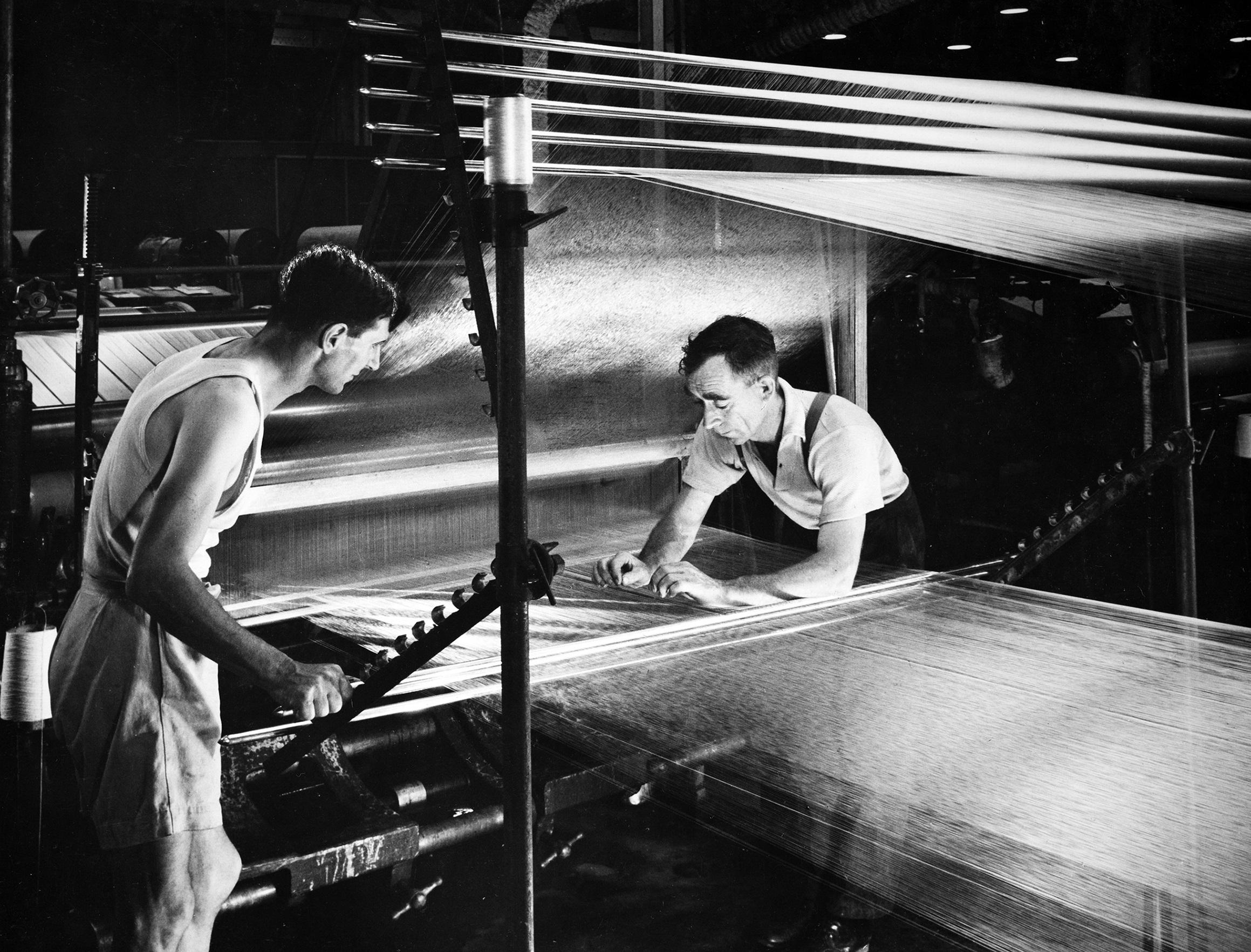 men in the mill