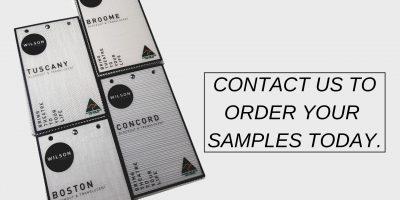 Order your samples banner